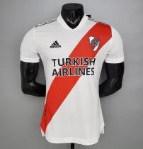 Player Version River Plate 2021 Home Authentic Jersey