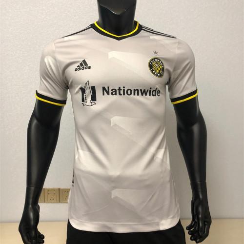 Player Version Columbus Crew 2021 Away Authentic Jersey