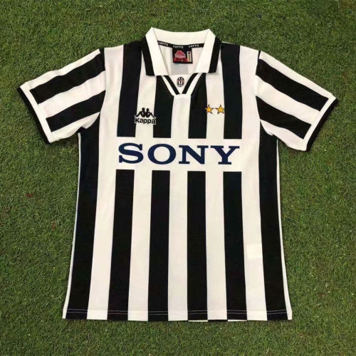 Juventus 1995-96 Home Retro Jersey
