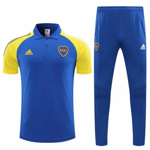 Boca Juniors 2020 Polo and Pants Kits Bright Blue