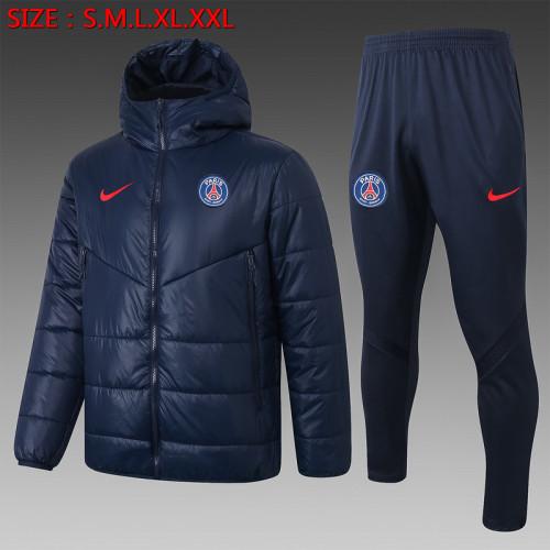 Paris Saint-Germain 20/21 Winter Training Coat - Navy