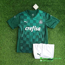 Palmeiras 2021 Home Jersey and Short Kit