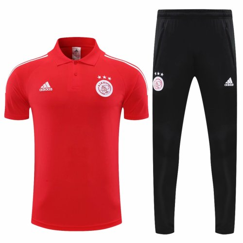 Ajax 20/21 Polo and Pants Kits Red
