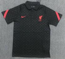 Liverpool 20/21 Pre-Match Polo Shirt Black