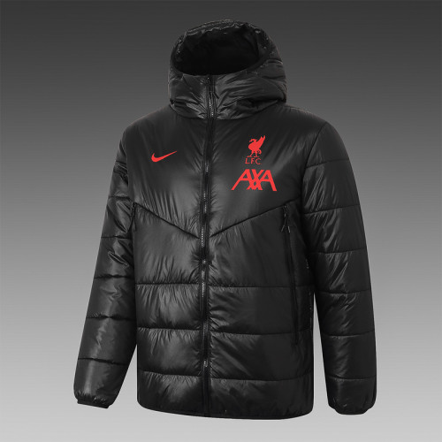Liverpool 20/21 Winter Training Coat Black H0005#