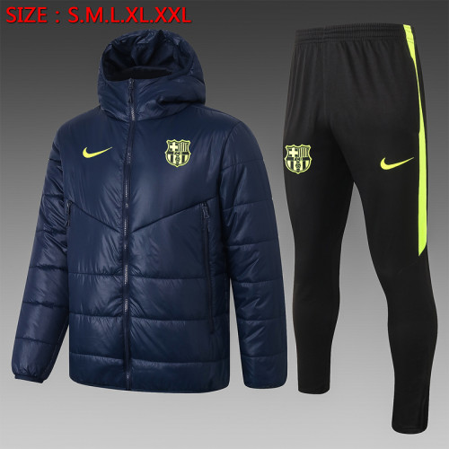 Barcelona 20/21 Winter Training Coat Navy