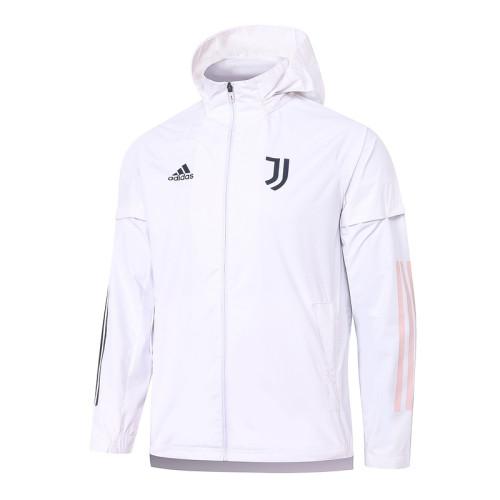 Juventus 20/21 Windbreaker White G072#