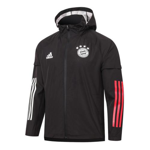 Bayern Munich 20/21 Windbreaker Black G066#
