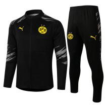 Borussia Dortmund 20/21 Jacket Tracksuit Black A398#