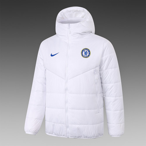 Chelsea 20/21 Winter Training Coat White