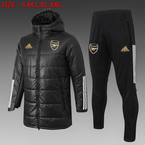 ARS 20/21 Winter Training Coat Black H0018#