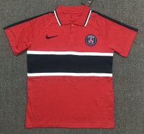 Paris Saint-Germain 20/21 Pre-Match Polo Shirt Red