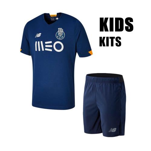 FC Porto 20/21 Kids Away Soccer Jersey and Short Kit