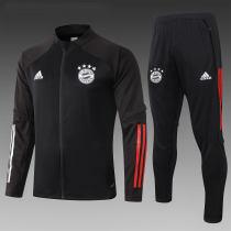 Bayern Munich 20/21 Jacket Tracksuit Black A362#
