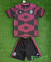 Kids Mexico 2021 Home Jersey and Short Kit