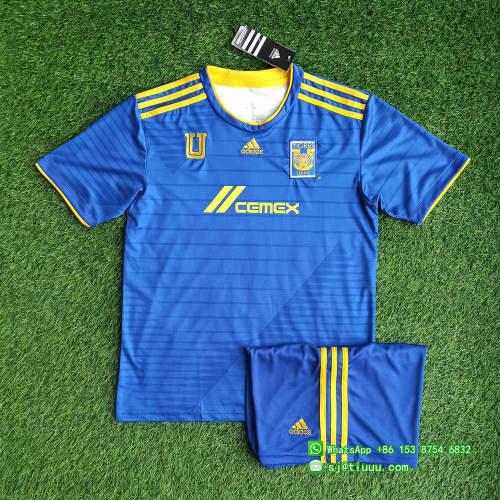 Tigres UANL 2021 Away Soccer Jersey and Short Kit