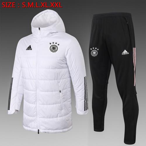 Germany 2021 Winter Training Coat - White