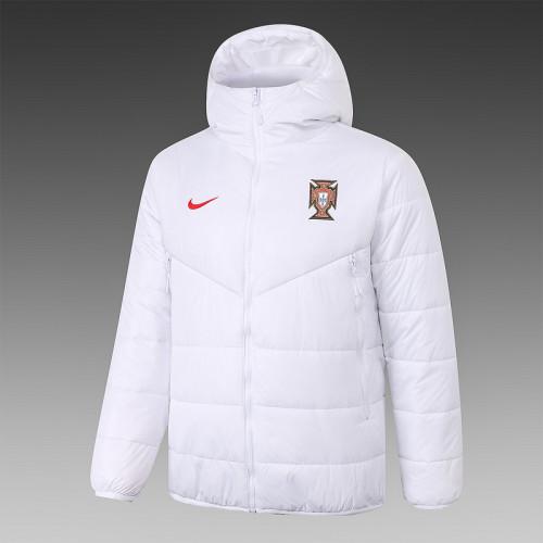 Portugal 2021 Winter Training Coat - White