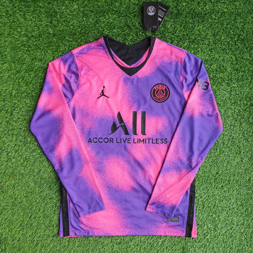 Thai Version Paris Saint-Germain 20/21 4th L/S Jersey
