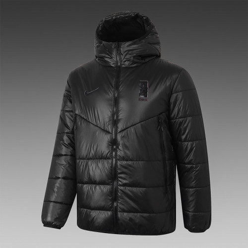 South Korea 2021 Winter Training Coat - Black