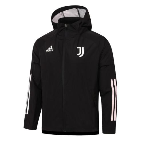 Juventus 20/21 Windbreaker Black G076#