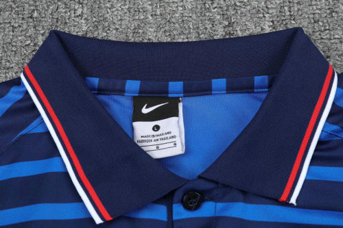 France 20/21 Polo and Pants Kits Blue Stripe