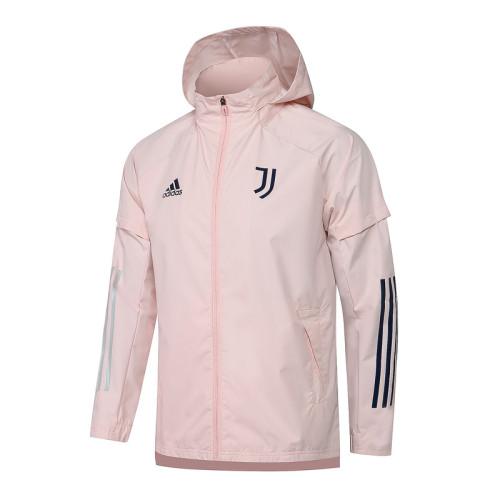 Juventus 20/21 Windbreaker Pink G084#