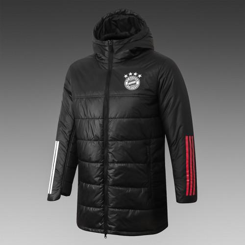 Bayern Munich 20/21 Winter Training Coat Black - H0021#