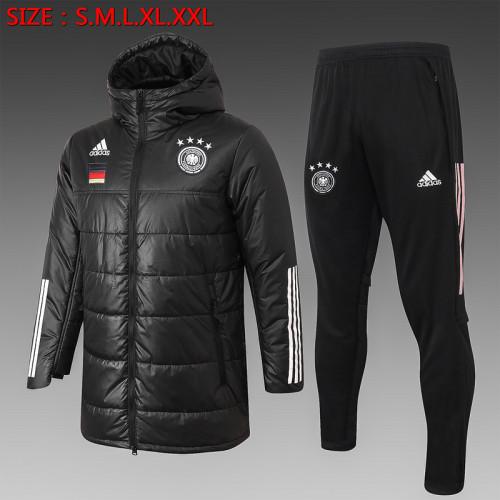 Germany 2021 Winter Training Coat - Black