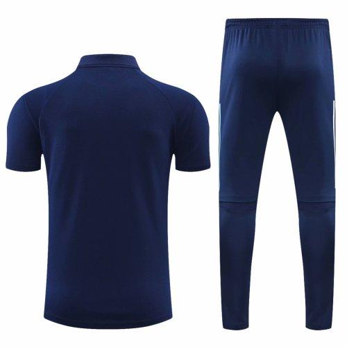 Ajax 20/21 Polo and Pants Kits Navy Blue
