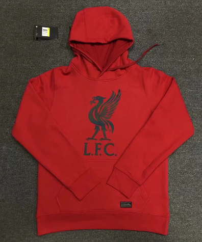 Liverpool 20/21 Hoodie With Wool- Red