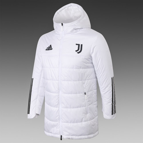 Juventus 20/21 Winter Training Coat White - H0003#