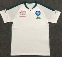 Napoli 21/22 White Pre-Match Polo Shirt