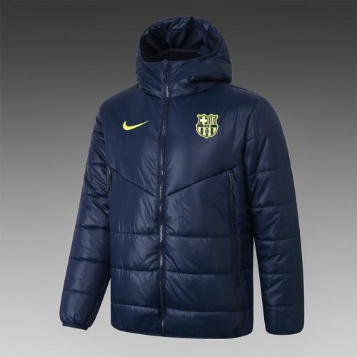 Barcelona 20/21 Winter Training Coat Navy