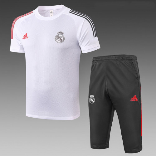 Real Madrid 20/21 Drill Kits White D518#