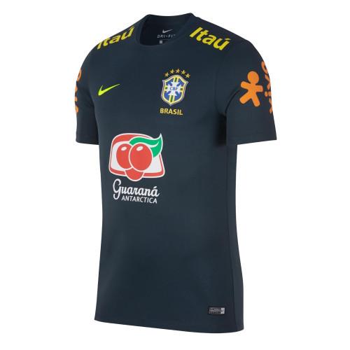 Thai Version Brazil 2018 Pre-Match Training Jersey