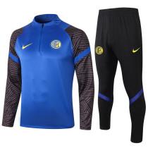 Inter Milan 20/21 Drill Tracksuit Bright Blue B431#