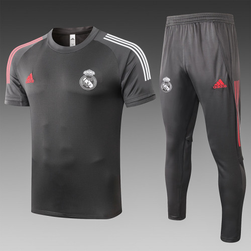 Real Madrid 20/21 Training Kit Dark Grey C516#