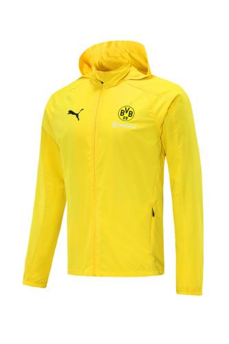 Borussia Dortmund 21/22 Windbreaker Yellow
