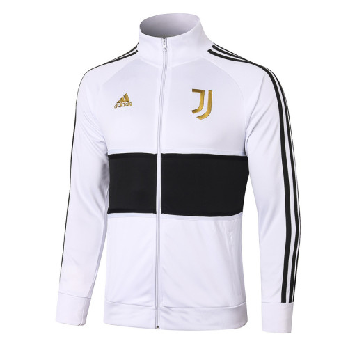 Juventus 20/21 Jacket Tracksuit White and Black A387#