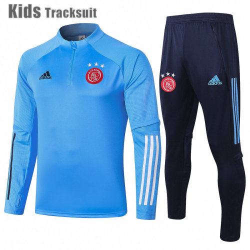 Kids TOT 20/21 Drill Tracksuit Light Blue E466#