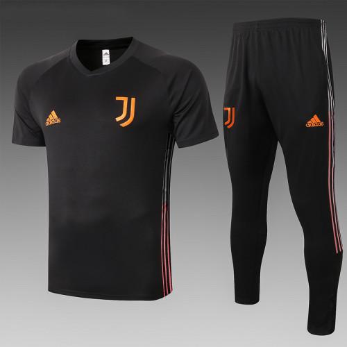 Juventus 20/21 Training Kit Black C544#