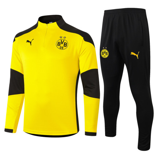 Borussia Dortmund 20/21 Drill Tracksuit Yellow B420#