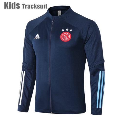Kids Ajax 20/21 Jacket Tracksuit Navy E464#