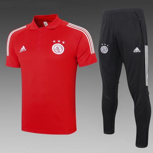 Ajax 20/21 Pre-Match Polo Kit Red C567#