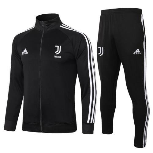 Juventus 20/21 Jacket Tracksuit Black A396#