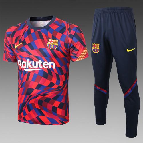 Barcelona 20/21 Training Kit Red C529#