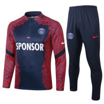 Paris Saint-Germain 20/21 Drill Tracksuit Navy B395#