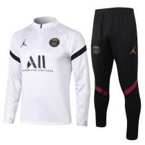 Paris Saint-Germain 20/21 Drill Tracksuit White B446#