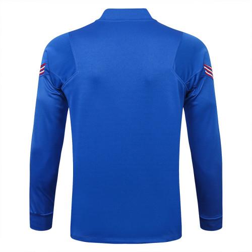 England 20/21 Drill Tracksuit Bright Blue B389#